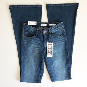 Jessica Simpson Dreamer Skinny Flare Jeans Sz 25